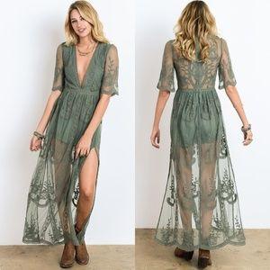 42f3121e559 Dresses -  Amelia  Lace Maxi Dress